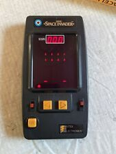 Entex Space Invader Vintage Electronic Game, With Instruction Manual! Works!
