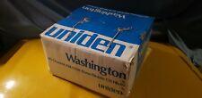 Uniden Washington Am/Ssb In Box*Phillipines*Beautiful Original Stock*1 Owner