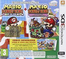 Mario VS D. Kong Minis March Again (dl) Puzzle - Nintendo 3ds