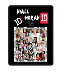[1D] Harry Styles [One Direction] All Members Fleece Throw Blanket Collage Photo