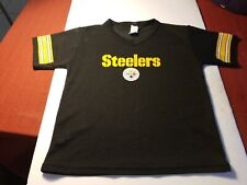 PITTSBURGH STEELERS NFL FOOTBALL JERSEY FRANKLIN SIZE YOUTH MEDIUM EXCELLENT