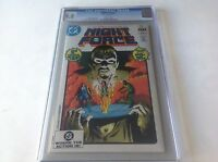 NIGHT FORCE 1 CGC 9.8 WHITE PAGES IST ISSUE MARV WOLFMAN GENE COLAN DC COMICS