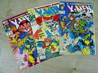 X - Men X-Cutioner's Song Graphic Comic Book Bundle NO. 14 15 16 Marvel Comics