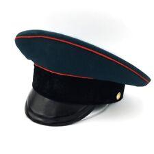 Rare Soviétique Parade Casquette Citerne Officer Cérémonial Visière Chapeau USSR