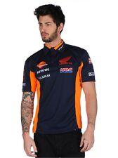 Official Respol Honda Team Blue Polo Shirt - 17 18501
