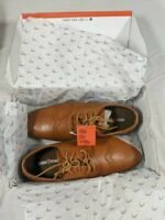 New Deer Stags Ace 21095 Oxfords, Mens Size 6.5 M, Brown Leather Dress Shoes