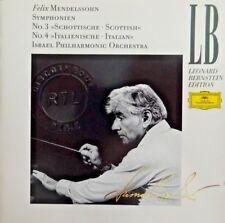 Mendelssohn Philharmonic Orchestra Leonard Bernstein – Symphonien [ CD ALBUM ]
