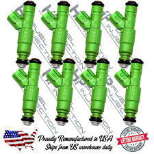 Lifetime Warranty Bosch Upgrade 4 Hole Jeep V8 4.7L 5.2L 5.9L Fuel Injector Set