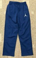 Nike Air Jordan Boys Therma Track Sweat Pants Blue Sz Medium (10-12 yrs) 951374