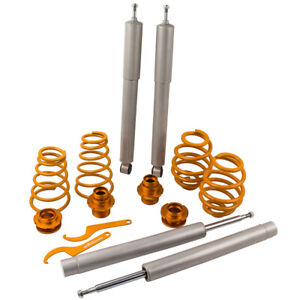 ADJUSTABLE COILOVERS KIT FOR BMW E30 3 S SALOON COUPE 82-91ADJUSTABLE COILOVER