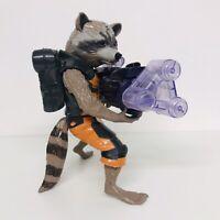"Guardians of The Galaxy Big Blastin Electronic Rocket Raccoon 10"" Action Figure"