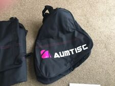 New listing AUMTISC 2 Bags Ski-Boot-Bag Ski Bags Combo Padded for 1 Pair of Ski Boots PINK
