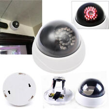 Simulation CCTV Dummy Security Camera LED Alarm Indoor Outdoor Warning Security
