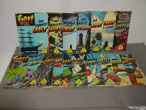 Gert IN Fighting With Pirates Band 1-16 Complete Kleinband Lehning (WR4)
