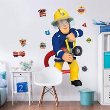 Fireman Sam Feuerwehrmann Wandsticker Wandtattoo Wandaufkleber Kinder Baby  Deko