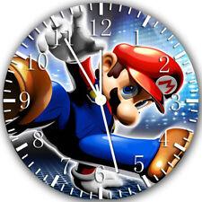 Super Mario Frameless Borderless Wall Clock Nice For Gifts or Decor Z101