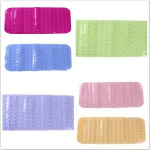 Anti Slip Loofah Shower Rug Bathroom Bath Mat Carpet Water Drains Non Slip SG