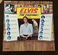 "1965 ELVIS PRESLEY ""Elvis For Everyone!"" LP [Rare Mono] RCA VICTOR (LPM-3450) NM"