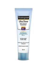 Ultra Sheer Dry Touch Sunscreen For Women And Men (30ml) From Neutrogena,F.Shp