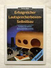 Walz - Erfolgreicher Lautsprecherboxen Selbstbau - Franzis - ISBN 9783772378812