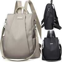 Womens Casual Oxford Rucksack Backpack Anti-Theft School Travel Shoulder Bags