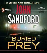 John Sandford BURIED PREY Unabridged CD *NEW* FAST Ship!