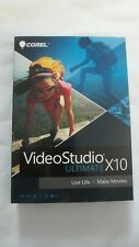 GENUINE Corel VideoStudio Ultimate X10 For Windows Live Life Make Movies