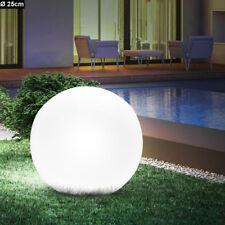 Lampada giardino sfera ip44 illuminazione esterni luce palla con picchetto E27