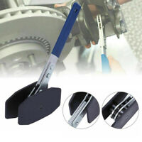 1x Blue Car Ratchet Brake Piston Spreader Wrench Caliper Pad Install Press Tool