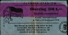 Ticket BL 69/70 Hertha BSC - MSV Duisburg