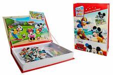 Disney Mickey & Friends Magnet Story Cards Magnetic with Sturdy Carry Case