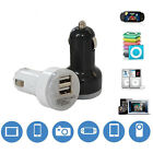 New 2 USB Port for iPhone iPad iPod 2.1A 1A 5V Car Charger Adapter Dual Double