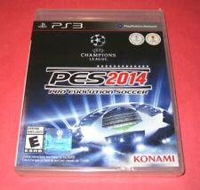 Pro Evolution Soccer PES 2014   PlayStation 3 PS3   New Y-Fold Sealed