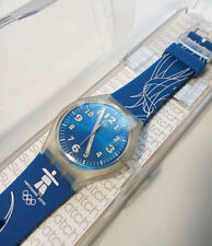 Rare Brand New Vancouver 2010 Winter Olympic Swatch Volunteer's Watch Swiss