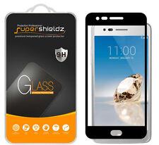 Supershieldz LG Aristo Full Cover Tempered Glass Screen Protector (Black)