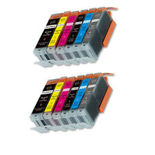 12 PK Printer Ink with chip for Canon 270 271 Pixma TS8020 TS9020 MG7720