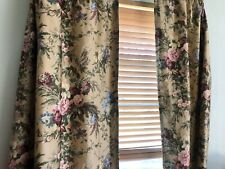 RARE RALPH LAUREN CUSTOM CURTAINS/DRAPES ~ADRIANA~FULLY LINED 60X53""