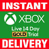 Xbox Live 14 Days (2 weeks) Gold Membership (XBOX ONE ONLY) INSTANT DELIVERY