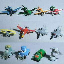 12PC Movie Planes Cars Dusty Skipper Dottie 3-6cm Doll Figures Kids Toy Set