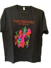 Foo Fighters Wasting Light Summer Tour 2011 tshirt Large Black