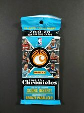 2019-2020 Panini Chronicles Basketball Cello Value  Pack Sealed 15 cards ZION ?
