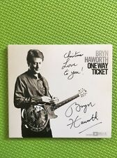 Bryn Haworth-One Way Ticket CD 2010 Bella Music Signed/Autographed BMCD026 Xmas