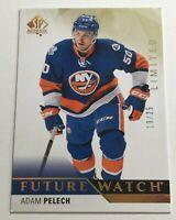 Adam Pelech /25 made Rookie SP Future Watch Insert Parallel Hockey Card 222