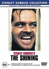 THE SHINING  - JACK NICHOLSON   - STANLEY KUBRICK COLLECTION - REGION 4