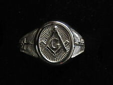 MASONIC  Ring Sterling Silver NEW