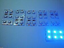 S0404-20 Stück LED SMD 0805 blau für Modellbau gegurtet LED0805-BL Blue