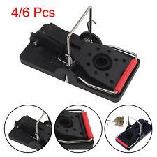 4/6 Pcs Plastic Mouse Traps Premium 4.5 CM x 9.5 CM Snap Mice Trap Catcher UK