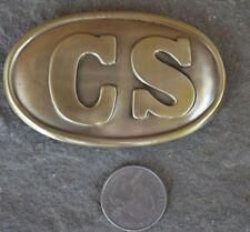 Confederate Replica Belt Buckle Plate Civil War CSA Rebel