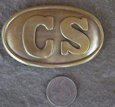 Confederate Replica Belt Buckle Plate Civil War CSA Rebel