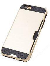 Stoßfeste iPhone 7 Schutzhülle (Heavy Duty Protection Handy Case) mit Kartenfach